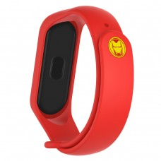 Ремешок TPU Armorstandart Superhero Edition для Xiaomi Mi Band 5 Iron Man Red (ARM57109)