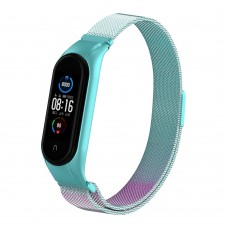 Браслет Metal Armorstandart Milanese Magnetic для Xiaomi Mi Band 5 Gradient Blue-Purple (ARM57186)