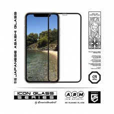 Защитное стекло ArmorStandart Icon 3D Full Glue для iPhone 12 mini Black (ARM57193)