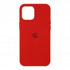 Чехол накладка TPU Armorstandart Silicone для iPhone 12 Red (ARM57257)