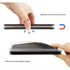 Чехол книжка PU Armorstandart G-для Xiaomi Redmi 9 Black (ARM57363)