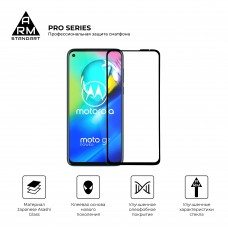 Защитное стекло Armorstandart Pro Full Glue для Motorola Moto G8 Power Black (ARM57780)