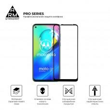 Защитное стекло Armorstandart Pro Full Glue для Motorola Moto G9 Power Black (ARM57785)