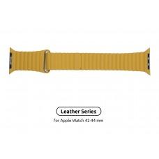Ремешок PU Armorstandart Loop для Apple Watch 42mm 44mm Yellow (ARM57842)