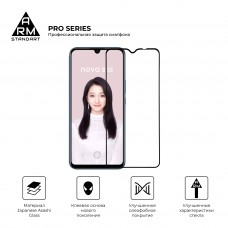 Защитное стекло Armorstandart Pro Full Glue для Huawei Nova 8 SE Black (ARM57904)