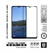 Защитное стекло Armorstandart Icon для Samsung A12 (A125) Black (ARM57968)