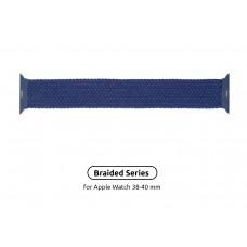 Ремешок Nylon Armorstandart Braided Solo Loop для Apple Watch 38mm 40mm Atlantic/Blue Size 6 (144 mm) (ARM58068)