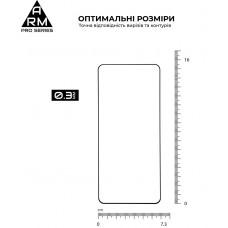 Защитное стекло Armorstandart Pro для Samsung S21 Plus Black (ARM58084)