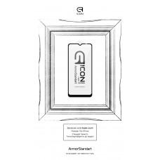 Защитное стекло Armorstandart Icon для Samsung A02 (A022) Black (ARM58121)