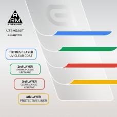 Защитное стекло Armorstandart Full Glue для Samsung A02 (A022) Black (ARM58163)