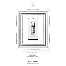 Защитное стекло Armorstandart Icon для Samsung A42 (A425) Black (ARM58275)