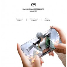Защитное стекло Armorstandart Full Glue HD для Samsung A01 (A015) Black (ARM58287)