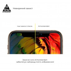 Защитное стекло Armorstandart Full Glue для Samsung A52 A525 A525 Black (ARM58348)