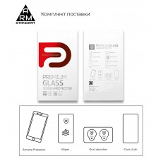 Защитное стекло Armorstandart Full Glue для Oppo А15 A15S Black (ARM58385)