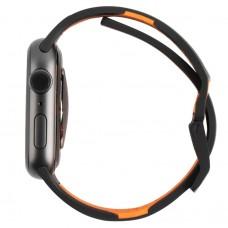 Ремешок TPU UAG Civilian Watch Strap для Apple Watch 38mm 40mm Black/Orange