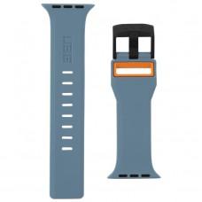 Ремешок TPU UAG Civilian Watch Strap для Apple Watch 38mm 40mm Slate/Orange