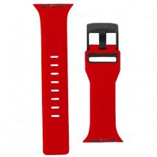 Ремешок TPU UAG Civilian Watch Strap для Apple Watch 42mm 44mm Red/Black
