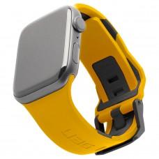 Ремешок TPU UAG Civilian Watch Strap для Apple Watch 42mm 44mm Yellow/Black