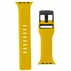 Ремешок TPU UAG Civilian Watch Strap для Apple Watch 38mm 40mm Yellow/Black