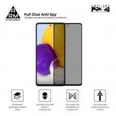 Защитное стекло Armorstandart Full Glue Anti Spy для Samsung M21 M31 M215 M315 Black (ARM58640)