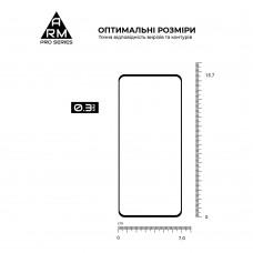 Защитное стекло Armorstandart Pro для Oppo A54 Black (ARM59071)