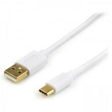 Кабель USB-Type-C Atcom 1.8m White