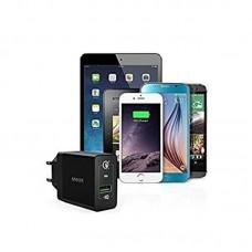 СЗУ Anker PowerPort+ 1 1USB 3A QC3.0 PowerIQ V3 Black + cable USB-MicroUSB