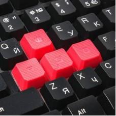 Комплект клавиатура + мышь A4Tech B2100 Bloody Black USB