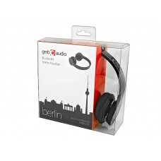 Наушники гарнитура накладные Bluetooth GMB Audio BHP-BER-BK Black