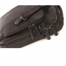 Сумка для ноутбука Tucano One Premium Shoulder Leather Brown (BOPXS-M) 10