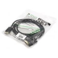 Адаптер DisplayPort-DVI PowerPlant 1.8m Black (CA911158)