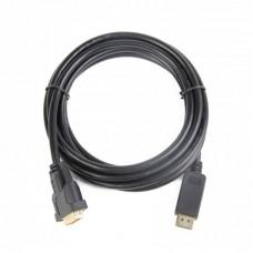 Кабель DisplayPort-DVI Cablexpert 3m Black