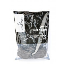 Кабель Audio 3.5мм-2RCA тюльпан Cablexpert 10m Black (CCA-352-10M)