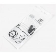 Кабель Audio 3.5мм-3.5мм 0.1m Cablexpert Black