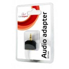Адаптер Audio 3.5мм-3.5мм M-F Cablexpert Black