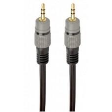 Кабель Audio 3.5мм-3.5мм Cablexpert 1.5m Black (CCAP-3535MM-1.5M)