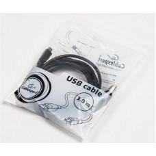Кабель USB-MiniUSB Cablexpert 3m Black