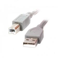 Кабель USB-Type-B 2.0 AM/BM Cablexpert 1.8m Grey