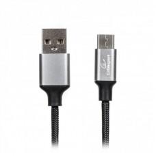 Кабель USB-Type-C Cablexpert Premium 1m Black