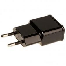 Зарядное устройство сетевое Grand-X 1USB 2.1А Black (CH-03UMB) + cable USB-MicroUSB