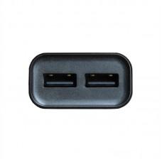 Зарядное устройство сетевое Grand-X 2USB 2.4A Black CH-45UMB + cable USB-MicroUSB