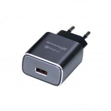 Зарядное устройство сетевое Grand-X QС3.0 3USB 1.5A/2A/3A Grey CH-750G
