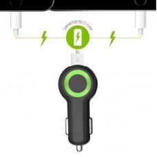 Адаптер автомобильный iOttie RapidVOLT Max Dual 2USB 5A Black (CHCRIO104BK)