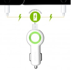 Адаптер автомобильный iOttie RapidVOLT Max Dual 2USB 5A White (CHCRIO104WH)
