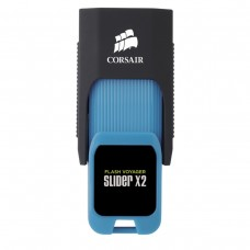 Флешка USB 3.0 64GB Corsair Flash Voyager Slider X2 Capless R310/W80MB/s Blue (CMFSL3X2A-64GB)