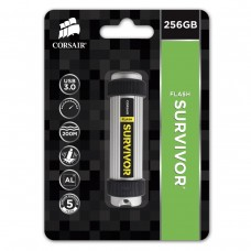 Флешка USB 3.0 256GB Corsair Flash Survivor Grey/Black (CMFSV3B-256GB)