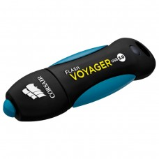 Флешка USB 3.0 64GB Corsair Flash Voyager water-resistant R190/W55MB/s Black/Blue (CMFVY3A-64GB)