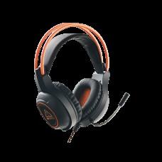 Наушники гарнитура накладные Canyon CND-SGHS7 Black/Orange