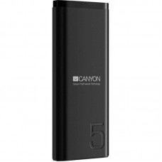 УМБ Power Bank Canyon 5000mAh 1USB Type-C 2.1A Black (CNE-CPB05B)