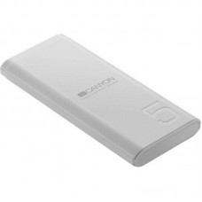 УМБ Power Bank Canyon 5000mAh 1USB Type-C 2.1A White (CNE-CPB05W)
